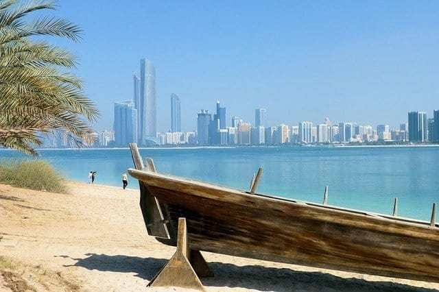 Skyline view of Dubai