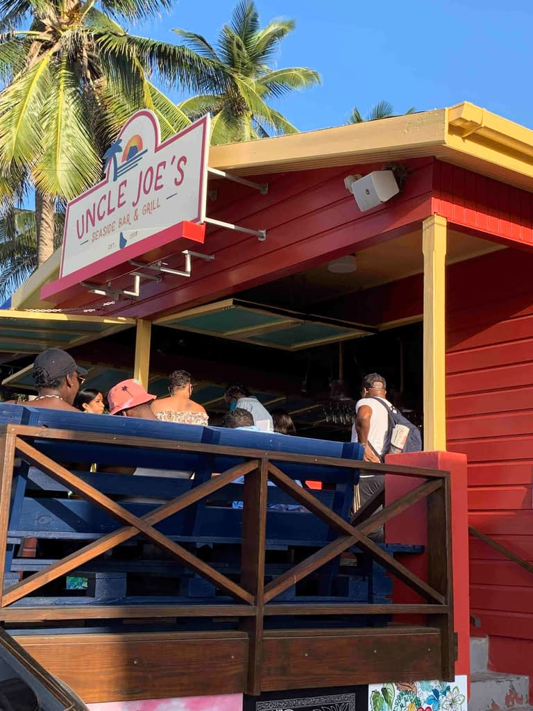 Uncle Joes Black Owned Restaurant in Barbados